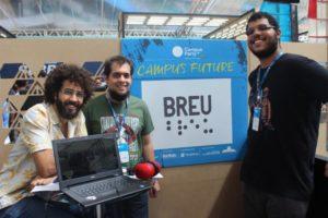 Estudantes apresentaram projeto na Campus Party/ Fonte: A TARDE