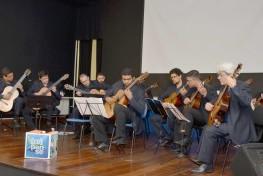 Projeto Curta Cinema e Orquestra de Violões da Ufba
